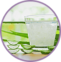 Aloe Vera juice for gel