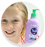 WOW Skin Science Kids Blueberry 3 in 1 Tip to Toe Wash - Shampoo + Conditioner + Bodywash for Cleaner Hair