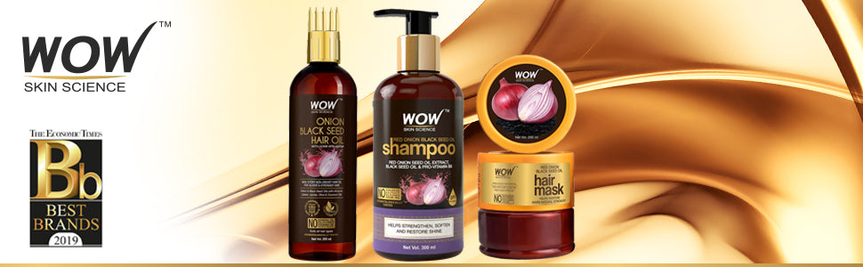WOW Skin Science Double The Strength Kit With Red Onion