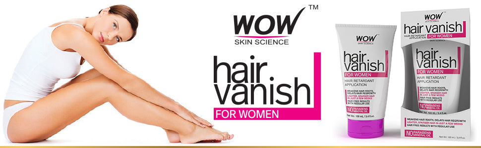 WOW Skin Science Hair Vanish For Women