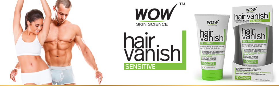 WOW Skin Science Sensitive Hair Vanish