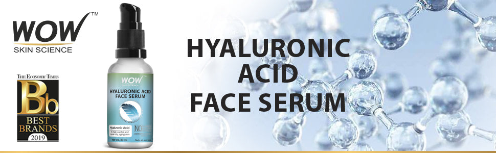 WOW Skin Science Hyaluronic Acid Face Serum