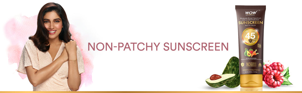 WOW Skin Science Sunscreen Lotion SPF 45