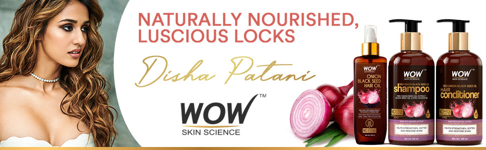 WOW Skin Science Red Onion Black Seed Oil combo