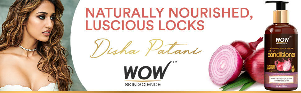WOW Skin Science Red Onion Black Seed Oil Conditioner