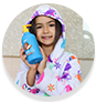 WOW Skin Science Kids Coconut 3 in 1 Tip to Toe Wash - Shampoo + Conditioner + Bodywash for Tear-free Hypoallergenic Formula