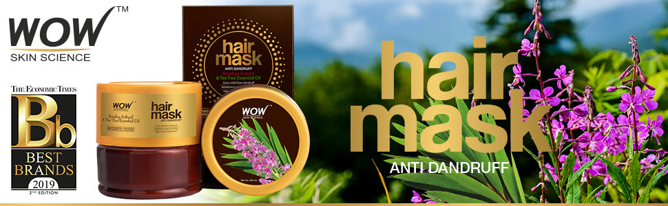 WOW Skin Science Anti-Dandruff Hair Mask