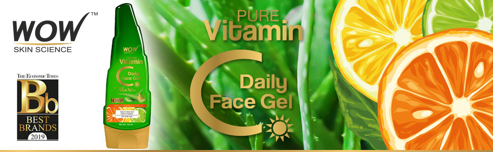WOW SKIN SCIENCE PURE VITAMIN C DAILY FACE GEL