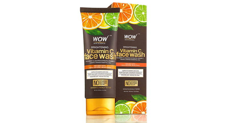 Wow Vitamin C Brightening Face wash