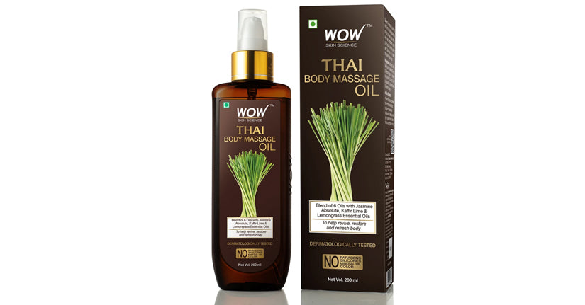 Thai Body Massage Oil