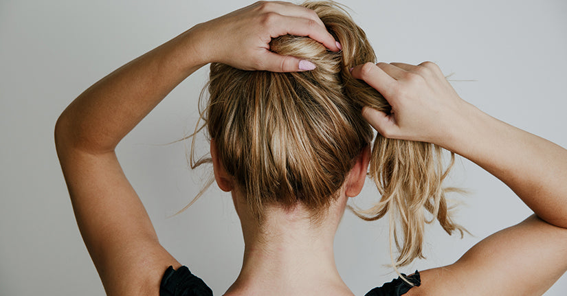 Don't tie your hair tightly after oiling