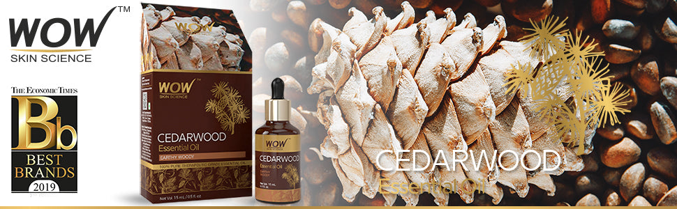 WOW Skin Science Cedarwood Essential Oil