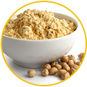 Chickpea Flour - Key ingredient of WOW Skin Science ubtan face wash
