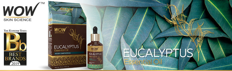 WOW Skin Science Eucalyptus Essential Oil