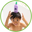 WOW Skin Science Kids Blueberry 3 in 1 Tip to Toe Wash - Shampoo + Conditioner + Bodywash that Excellent for hair and skin