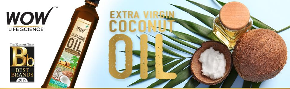 WOW Life Science Extra Virgin Coconut Oil Banner