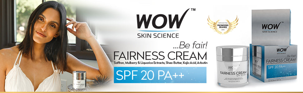 WOW Skin Science Fairness Cream banner