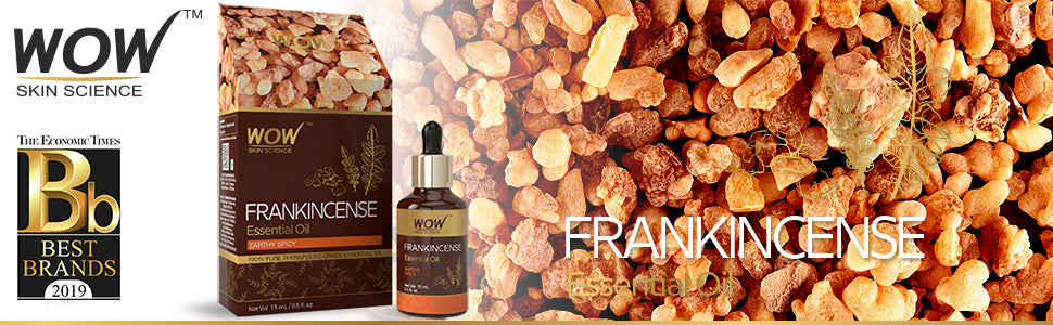 WOW Skin Science Frankincense Essential Oil