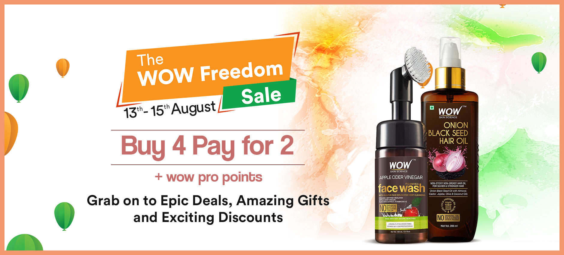 The WOW Freedom Sale