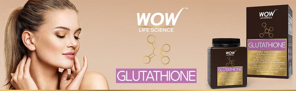 WOW Life Science Glutathione Supplement