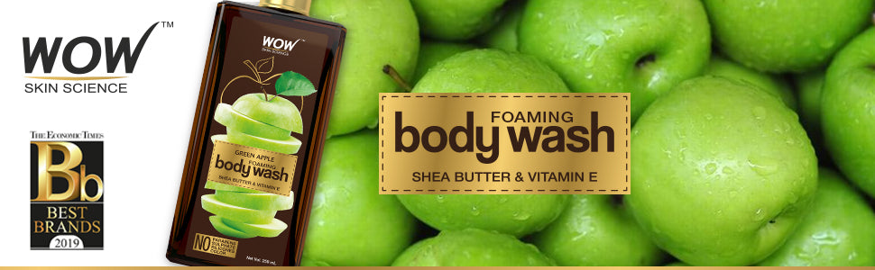 WOW Skin Science Green Apple Body Wash