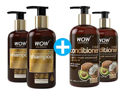 Hair Strengthening Shampoo combo