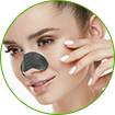 activated charcoal face pack helps refine the pore size