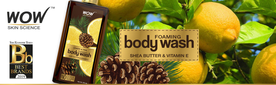 WOW Skin Science Lemon & Pine Body Wash