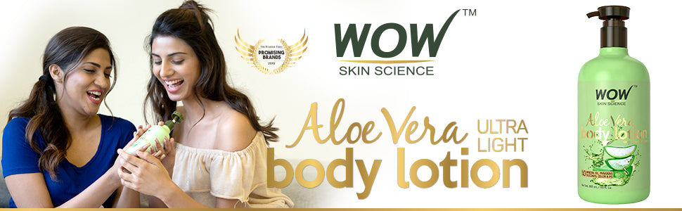 WOW Skin Science Aloe Vera Daily Body Lotion
