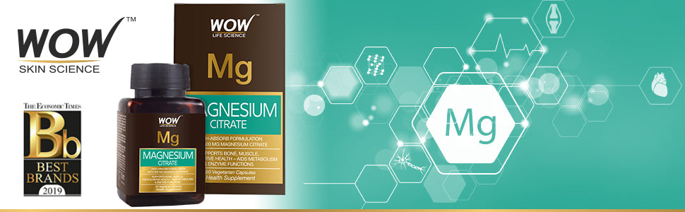WOW Life Science Magnesium Citrate