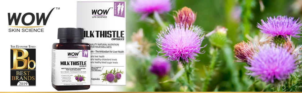 WOW Life Science Milk Thistle Supplement