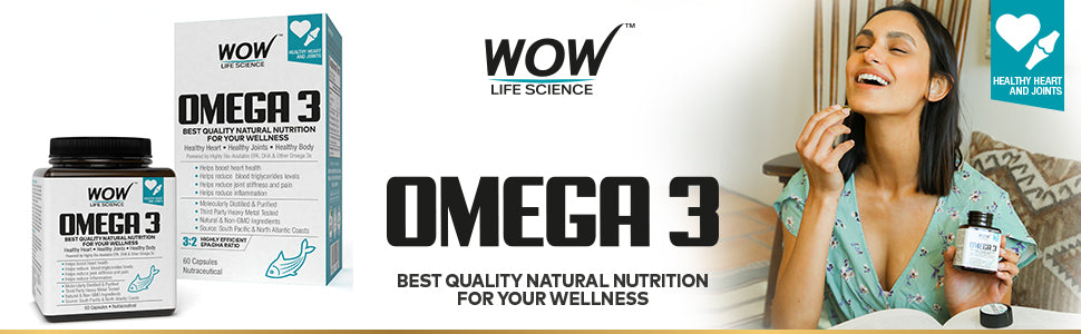 WOW Life Science Omega 3