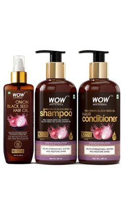 WOW Skin Science Red Onion Black Seed Oil