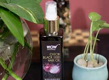 WOW Skin Science Onion Black Seed Hair Oil step1