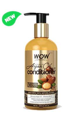 WOW Skin Science Moroccan Argan Oil Conditioner  bottle