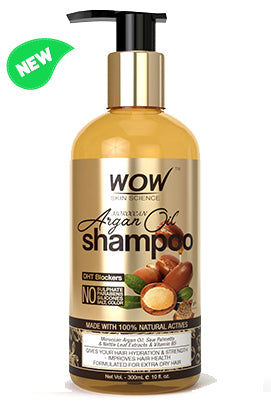 WOW Skin Science Moroccan Argan Oil Shampoo bottle