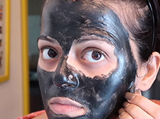 Charcoal Peel Off step2
