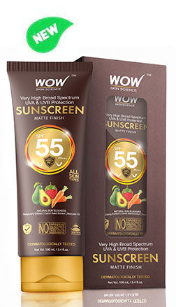 WOW Skin Science Sunscreen Lotion SPF 55