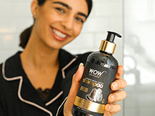 WOW Skin Science Charcoal & Keratin Shampoo step3