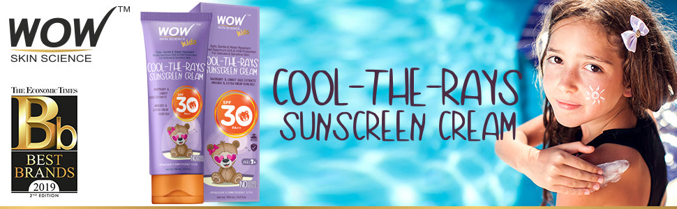 WOW Skin Science Kids Cool -The-Rays Sunscreen Cream