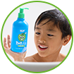 WOW Skin Science Kids Green Apple 3 in 1 Tip to Toe Wash - Shampoo + Conditioner + Bodywash Leaves skin super smooth