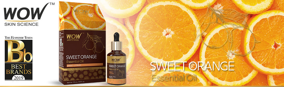WOW Skin Science Sweet Orange Essential Oil