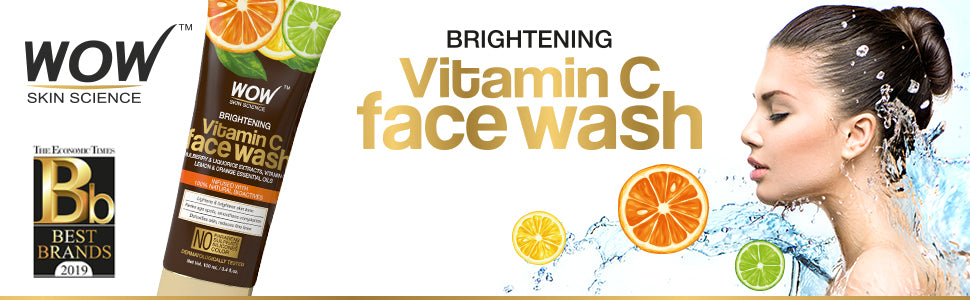 WOW Skin Science Vitamin C Brightening Gel Face Wash