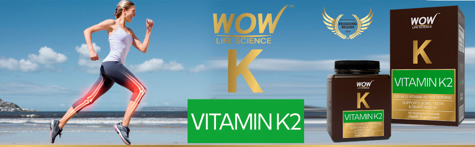 WOW Life Science Vitamin K2 Supplement