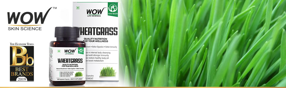 WOW Life Science Wheatgrass Supplement