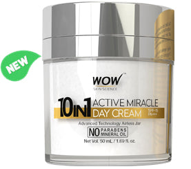 10-in-1 Active Miracle Face Cream product bottle