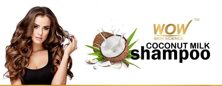 WOW Coconut Milk Shampoo, 300ml