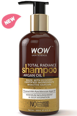 WOW Skin Science Total Radiance Argan Oil Shampoo