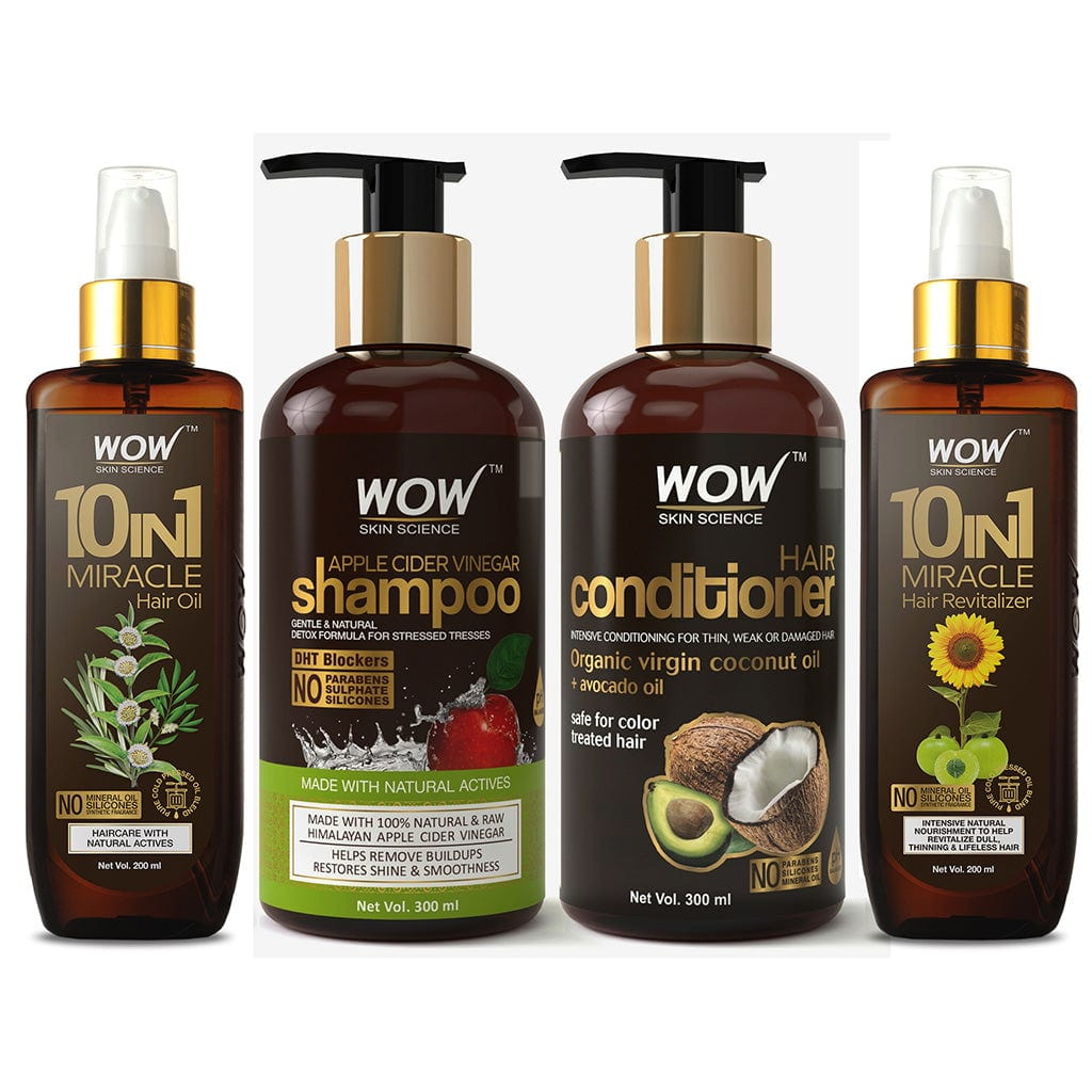 WOW Skin Science Beautiful Ultimate Hair Care Kit - BuyWow