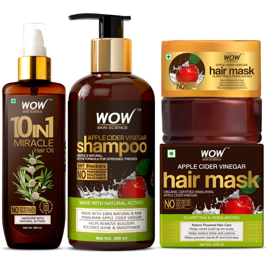 WOW Skin Science Lush & Lustrous Hair Kit - BuyWow